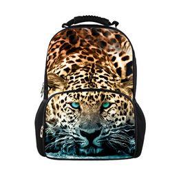 Wholesale Bag Zoo Pack - uggage Bags Backpacks Hot jurassic park 3d dinosaur men backpack zoo animal travel back pack tiger leopard mochila maculina casual outdoo...