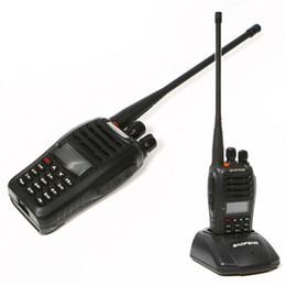 Wholesale Baofeng Dual - Walkie Talkie baofeng UV-b5 Dual Band Two Way Radio 5W 128CH UHF VHF FM VOX Pofung UV b5 ham radio Dual Display