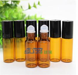 Bottes en verre brun foncé sur des bouteilles Flacons de parfum de 5 ml pour huile essentielle En stock Top Quality ? partir de fabricateur