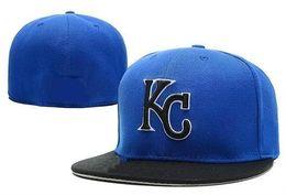 Argentina 2017 envío libre NUEVO KC Sombreros de béisbol equipados sombreros sombreros de los deportes para hombres y mujeres de alta calidad Suministro