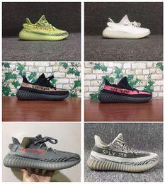 Wholesale Mens Running Shoes Best - Best Sply 350 V2 Boost Beluga Zebra Semi Frozen Yebra Women Mens 350 V2 Boost Running Shoes Sneakers With Box