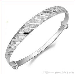 925 стерлингового серебра ювелирные изделия Шарм браслеты браслет китайский винтаж полоса линия яркий бесплатная доставка от Поставщики серебряный браслет
