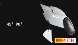 Al por mayor-4590 Degree Angle Easy Mat Cutter con 6 Cuchillas de repuesto Tarjeta de espuma Estera Junta de corte Envío gratis desde fabricantes