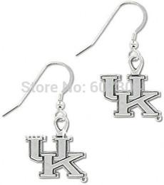 Wholesale Wholesale Wildcat Kentucky - Kentucky Wildcats sports charm earrings,5 pairs a lot