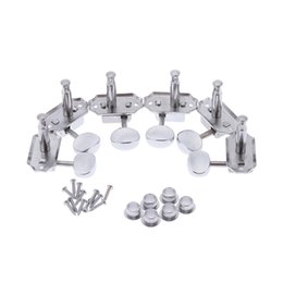 Wholesale Tuning Machines For Classical Guitar - High Quality 3L3R Semiclosed Wood Guitar Tuning Pegs Tuners Guitar Machine Heads for Acoustic Folk Classical Guitars 6pcs I1120