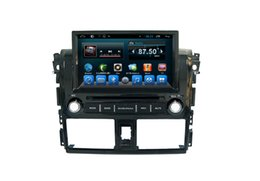 Wholesale Dvd Gps Yaris - In-dash Digital Media Receiver Toyota Yaris 2014 GPS unit with 3G GPS Car Dvd Mp3 Mp4 Player