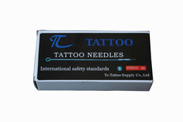 Wholesale Disposable Tattoo Needle 9rs - 50 Pcs Disposable Round Shader Sterilized Tattoo Needles 9RS Free Shipping DropshippingTattoos and body painting YL