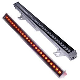 Линейные светодиодные шайбы онлайн-Шайбы стены Сид освещая 9W-108w RGB шайбы стены ставят линейный свет потока пятная свет прожектора Сид