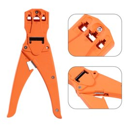 wire strip tool Promo Codes - New Portable Network Stripper Wire Cutter Crimping Stripping Tools Cable Crimper Crimp PC Computer Repair Networking Tools