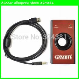 Wholesale Gambit Car Key - Wholesale-ALKcar Auto transponder key programmer Gambit Car Key Master II Gambit RFID transponders Programmer
