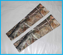 Wholesale Pink Arm Guard - real tree digital camo arm Sleeves Cycling arm guard for Adult children