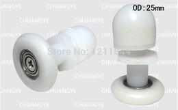 Wholesale Eccentric Wheel - nylon pulleys Sliding door roller Shower room eccentric wheels Door roller series pulley