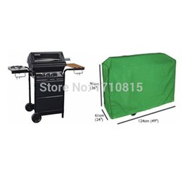 Wholesale Garden Bbq Grill - Waterproof BBQ Cover Outdoor Garden Wagon Barbecue Grill Protective 124x61x91cm