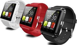 2019 altímetro de relógio inteligente Bluetooth u8 smart watch relógios de pulso com altímetro para iphone 4 4s 5 5s samsung s4 s5 nota 2 nota 3 htc android telefone na caixa de presente desconto altímetro de relógio inteligente