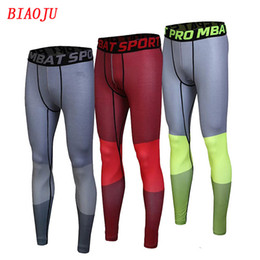 Wholesale Mens Compression Sports Pants - Jimesports Quick Dry Mens Sports Compression Running Pants Men Gym Joggers Outdoor Leggings Basketball Base Layer Pants for Men