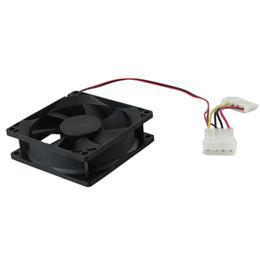 Wholesale Heat Sink Case - Wholesale- 120mm PC CPU Cooling Fan 12v 4 Pin Computer Case Cooler Connector For Computer 1 pc Computer radiator fan Heat sink
