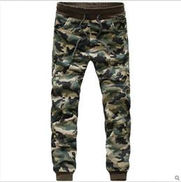 Wholesale Hiphop Jogging Pants - Camouflage Jogger jogging Pants Men Cuffed Twill Casual Hip Hop Camo Pants Hiphop Harem Pants Jeans Trousers Pantalones Male Boy free shippi