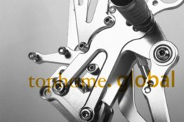 Wholesale Rear Sets Cnc - Free Shipping Motorcycle Parts Silver CNC Rearsets Foot Pegs Rear Set For BMW S1000RR 2010-2011 New motorcycle foot pegs M52375