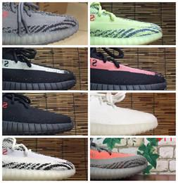 Wholesale Red Light Night - 2017 Boost 350 Shoes Yebra Red Night Violet,Blue Tint V2 V3 Breds CP9652 Zebra CP9654 Beluga 2.0 High Quality