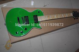 Wholesale Eclipse Custom Shop - Free shipping 2016 Top Quality standar Eclipse vinatge green color CUSTOM SHOP EMG pickup electric guitar