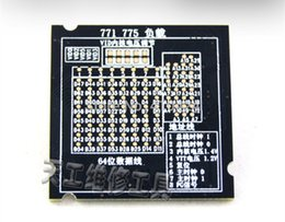 Wholesale Motherboards 775 - Dummy load 775 CPU compatible with 771  775 dual purpose motherboard order<$18no track