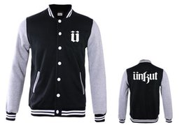 Wholesale Unkut Clothing - Fall-Unkut Jackets Men's winter Coats casual sport new style outerwear for sale hiphop jacket for men Men's Clothing Coats & Jackets