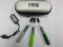 Wholesale Ego Glass Dome - ego glass globe wax vaporizer pen kit e-cigarette glass dome vaporizer pen ego e cigarette waxing device smoking starter kit for e cig