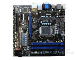 Wholesale Msi Motherboard I7 - Wholesale-For MSI H55M-E33 original motherboard LGA 1156 DDR3 board For I3 I5 I7 CPU 16GB Micro ATX H55 Desktop motherboard Free shipping