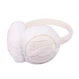 Wholesale Pink Ear Warmer Headband - Wholesale- Women Girl Winter Warm Kint Earmuffs Earwarmers Ear Muffs Earlap Warmer Headband