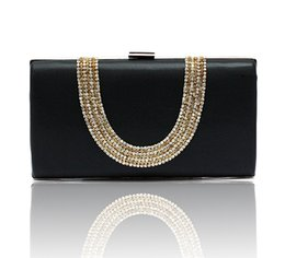 Wholesale Cheap Blue Diamonds Sale - Hot Sale Velvet Bridal Hand Bags Red Black Blue Purple Crystals Shining Beauty Girls Formal Party Clutch Evening Bags Cheap Free Shipping ZY