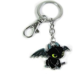 Drachenzähmen leicht gemacht 2 Zahnlos Nacht Fury Tier Schlüsselbund für Schlüssel Auto Tasche Schlüsselanhänger Handtasche Paar Schlüsselanhänger Geschenke Zubehör von Fabrikanten