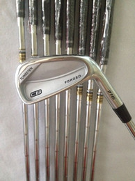 Wholesale Cb Golf - Golf Clubs CB Forged 716 Irons 3456789P With Dynamic Gold Steel R300 shaft 8PCS CB 716 Golf Irons Right hand