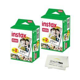 Instax filme mini 25 on-line-Alta qualidade instax branco filme intax para mini 90 8 25 7 S 50 s Polaroid Câmera Instantânea 25 lotes DHL livre