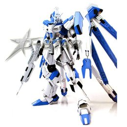 Wholesale Gundam Assembly Robots - Free Shipping am HG RX-93-2 Hi-V oom am 1 144 Scale Model Kit Assembly Toy New