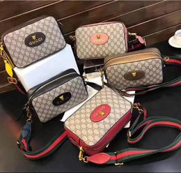 Wholesale Pink Dress Bag - Hot sale Fashion Boston Bags Men and women's Shoulder bag Leather handbags Brand G Woman beautiful Bag