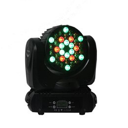 dj luces de carretera Rebajas RGBW llevó 36 * 3W llevó la cabeza móvil Wash Lights LED cabeza móvil Beam lámpara cabeza móvil Stage Stage DJ DJ etapa lámpara de la etapa