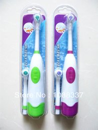 Wholesale Discount Electric Toothbrushes - Wholesale-New design Electric waterproof revolve automatic rotate toothbrush Free shipping sale low discount Oral Hygiene Dental Care