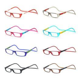 Wholesale color value - Wholesale-2016 NEW 10PCS Value Pack Bi-color Folding Magnetic Reading Glasses Women Men Plastic Readers Eyeglasses+1.0+1.5+2.0+2.5+3.0+3.5