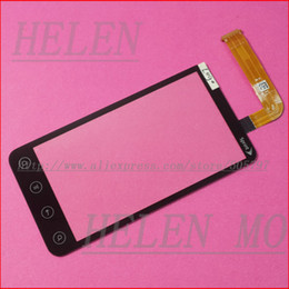 Wholesale Evo 3d Touch Screen - Wholesale-Touch Screen Digitizer Glass Panel Lens For HTC EVO 3D G17 X515m Black Replacement