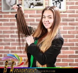 Wholesale Remy Hair Wholesale India - 2016 hot selling!!!New Arrival Nano Hair Extensions,100%India Remy Hair,So easy!!! More comfortable!!!, #1, medium brown