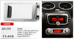 Wholesale Ford Installation - CARAV 11-416 Top Quality Radio Fascia for FORD Focus II, Mondeo, S-Max, C-Max Stereo Fascia Dash CD Trim Installation Kit