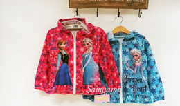 Wholesale Long Outerwear For Spring - new 2014 frozen children outerwear Frozen Children Hoody Frozen Children Hoodies For Girls Sweatshirts Frozen Hoodies Girls Sweatshirts