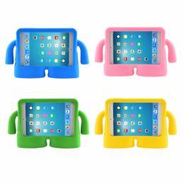 Wholesale ipad rubber case pink - Shockproof Kids Handle EVA Foam Case Cover For Apple iPad Mini 1 2 3