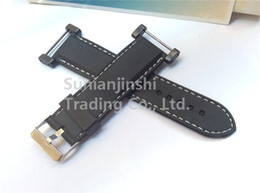 Wholesale Watch Suunto Sports - New 24mm For Suunto Core Watch Band Black Soft and Waterproof Rubber Silcone Strap+Stainless Buckle PVD Adapters+ Lugs Free Shipping - 040