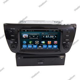 Wholesale Sat Nav Stereo - Android car dvd player gps sat nav audio stereo built in ATV Wifi SWC Bluetooth 3G fit for Fiat Doblo Opel Combo