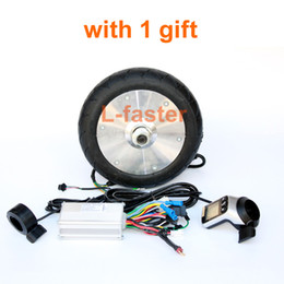 Wholesale Electric Scooter Kids - 180W DIY Electric Children Scooter Gearless Hub Motor Kit Wuxing LCD Panel Thumb Throttle Homemade Electric Kid Cart 6Km h Only