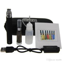 Canada CE4 eGo Starter Kit Cigarette Électronique Zipper Case Kit Unique E-Cigarette 650 mah 900 mah 1100 mah Batterie meilleur prix CE4 atomiseur vaporisateur Offre