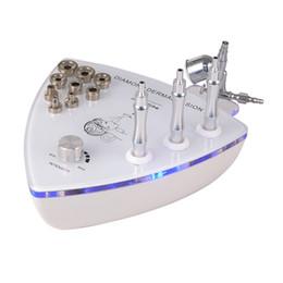 Wholesale Microdermabrasion Oxygen Machine - 2017 Portable 2 in 1 diamond dermabrasion machine with microdermabrasion and oxygen sprayer face cleansing skin rejuvenation beauty machine