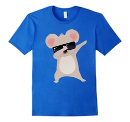 Wholesale Koala Shorts - Dabbing Koala T-Shirt Design Tshirt Pride of The Creature Tee Shirts Mens Short Sleeve Tees Different Colours High Quality