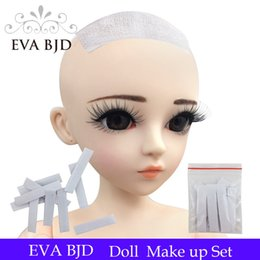 Wholesale Wigs For Bjd Dolls - Hair stick 10 Pc  bag Wig Fixer Solid Adhesive Hook Glue Sticky for BJD SD Doll Hair Wigs